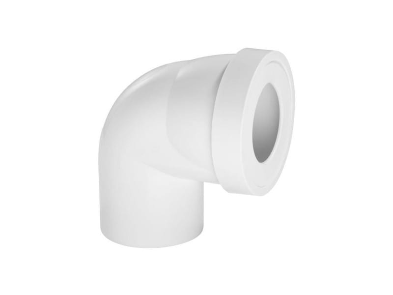 Pipe rigide courte - coudée male - ø 100 mm WIR3375537142071
