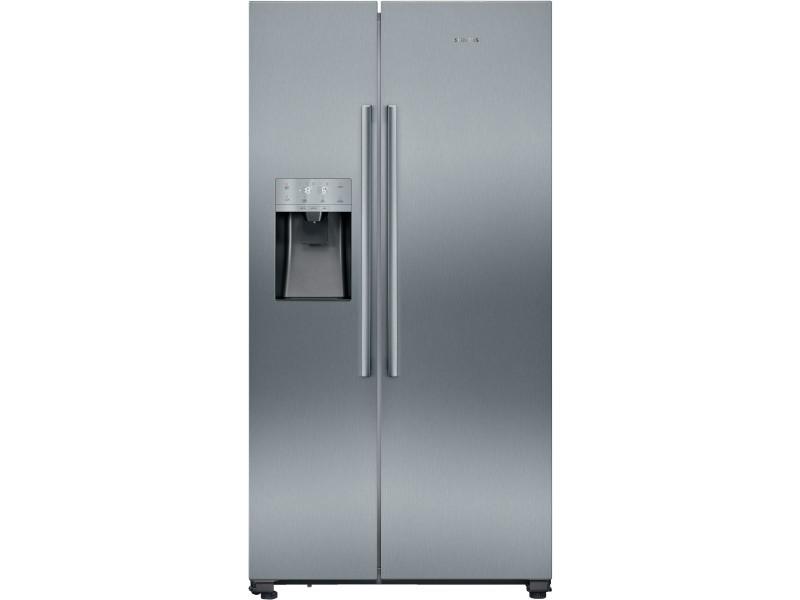 Réfrigérateur américain 533l froid ventilé siemens 90.8cm a+, ka 93 dv i fp