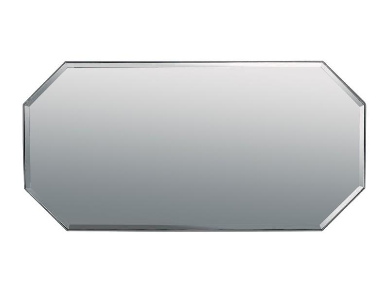 Miroir laqué noor - gris