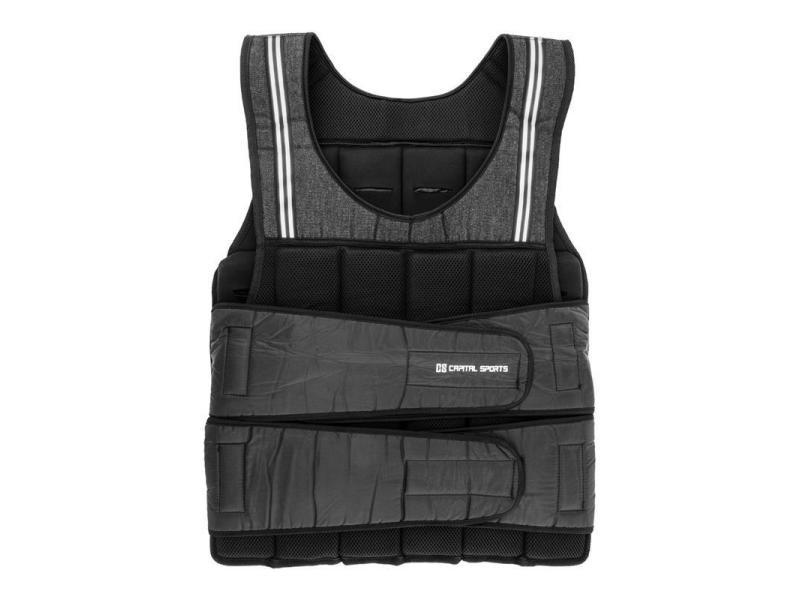 Capital sports vestpro 20 gilet lesté pour musculation 20 kg 38 poids