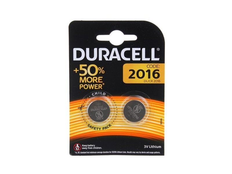 Duracell - blister 2 piles electronics 2016 092420388
