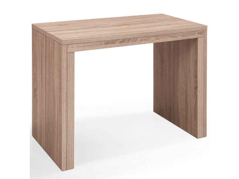Table console extensible nassau xl chêne clair vente de table