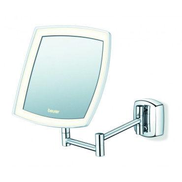 Miroir grossissant lumineux mural bs89 bs89 vente de for Miroir mural conforama