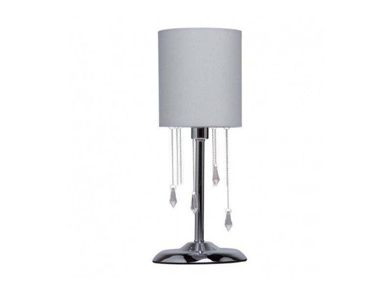 Lampe de table chromée elegance 1 ampoule diamètre 17 cm MW684030501
