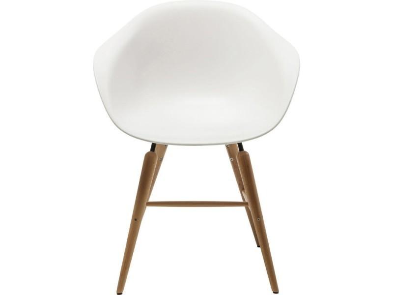 Chaise Design Blanche Pieds En Bois Forum