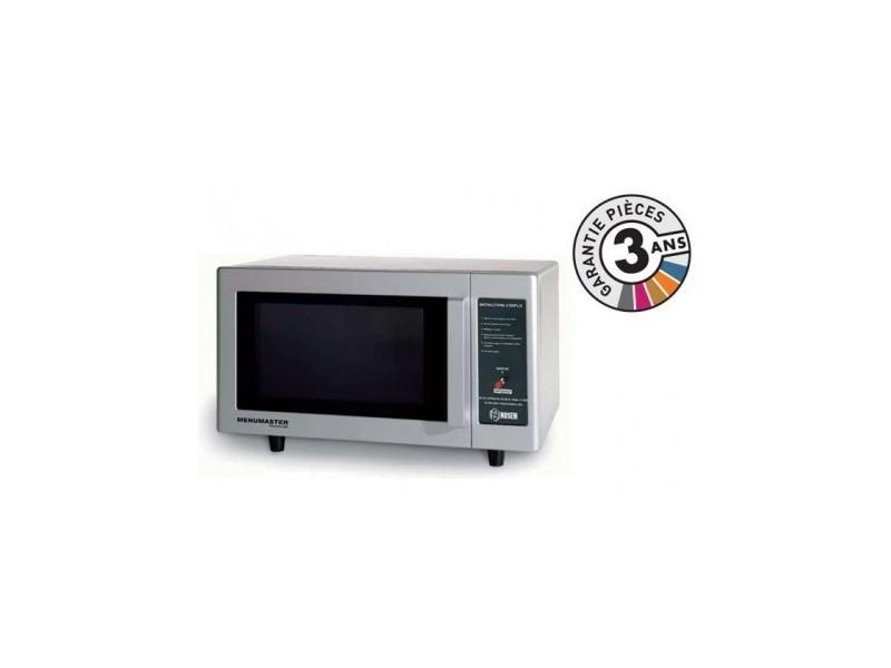 Four micro-onde cafétéria professionnel - 23 l - 1000 w - rms510dself - menumaster - 2300 cl