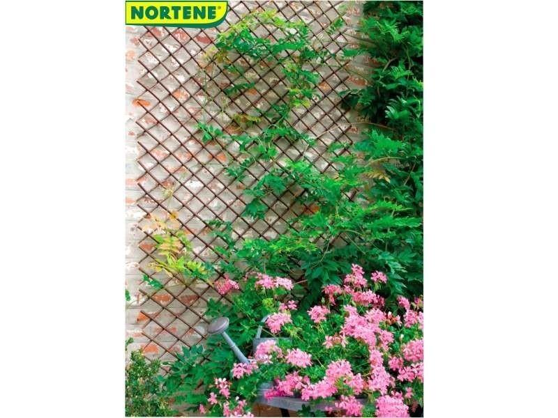 Mobilier de jardin et aménagement extérieur 0.5 x 1.5 m treillis en osier extensible. À planter dire