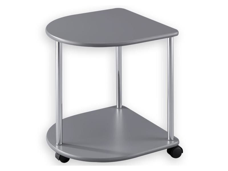 Sellette gu ridon table d 39 appoint laqu gris vente de - Conforama table d appoint ...