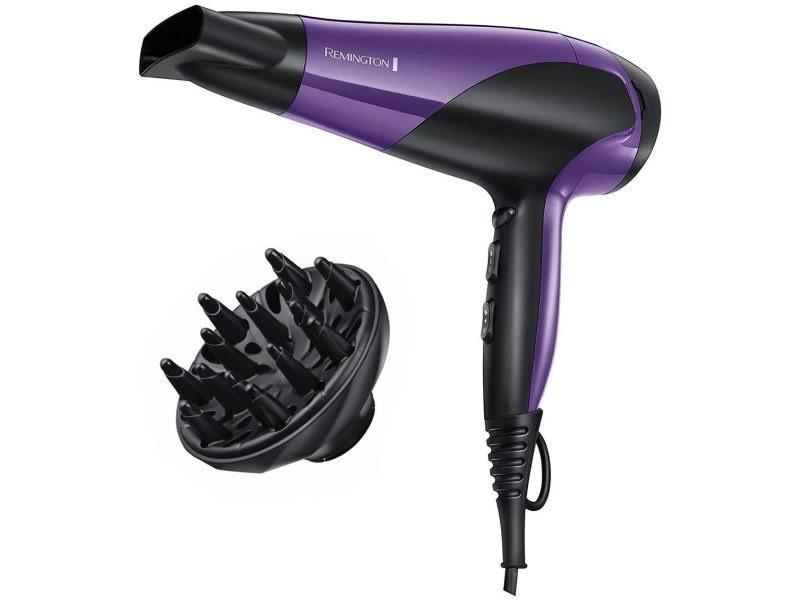 Sèche cheveux compact ionique 2200w violet noir