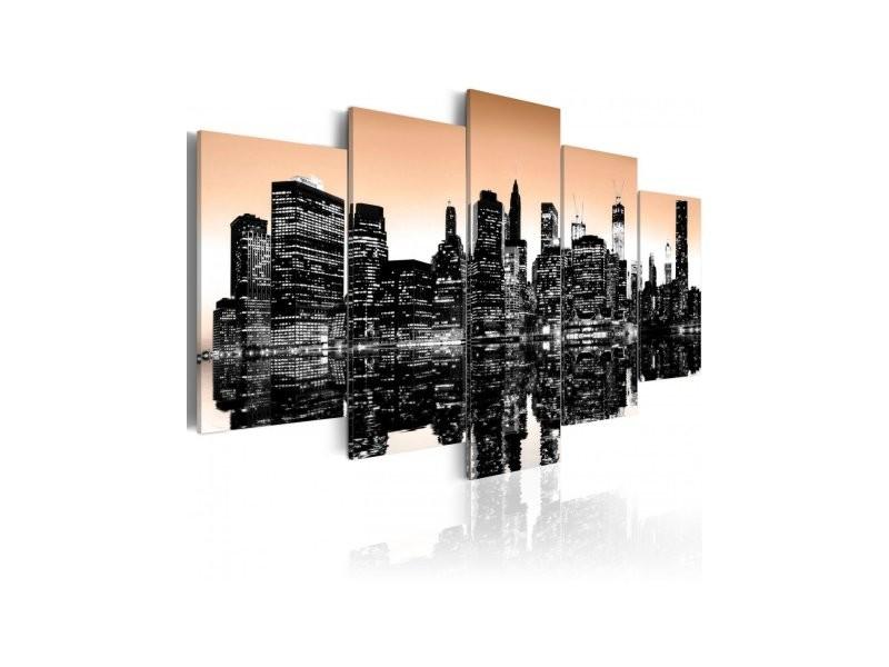 Tableau New York Se Noie A1 N1829pwd Vente De Artgeist Conforama