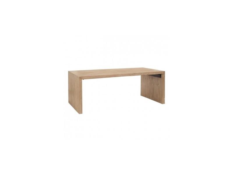 Table à manger rectangulaire bois de pin 200 cm pino