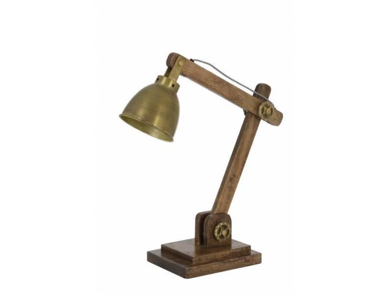 Lampe elmer electrique de bureau à poser luminaire de table