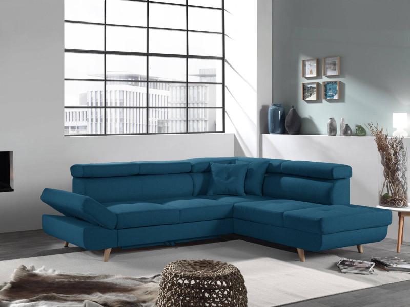 linea canap d 39 angle droit convertible scandinave l. Black Bedroom Furniture Sets. Home Design Ideas