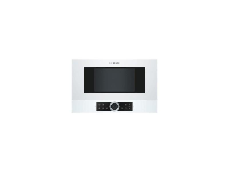 Micro-ondes encastrable 900w- 21l blanc tout intégrable - technologie inverter, cookassist - ecran couleur