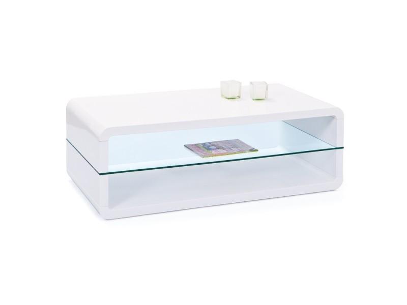 Paris prix - table basse design verre \