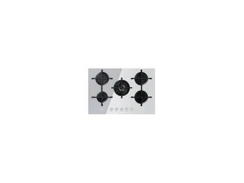 Whirlpool goa 7523/wh plaque blanc intégré (placement) gaz 5 zone(s) GOA 7523/WH