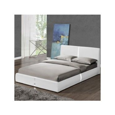 lit avec sommier lattes 140x190 ulysse vente de meubler design conforama. Black Bedroom Furniture Sets. Home Design Ideas