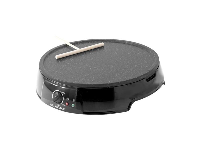 Kitchenccok - happy_black - crepiere antiadhesive - 1200w - noir KIT3662738018725