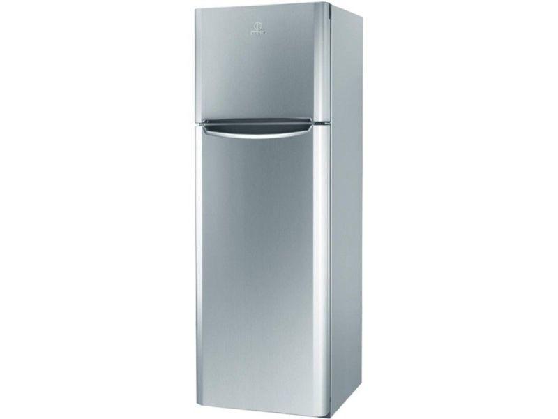 Réfrigérateur 2 portes 305l froid brassé indesit 60cm a+, tiaa 12 vsi 1
