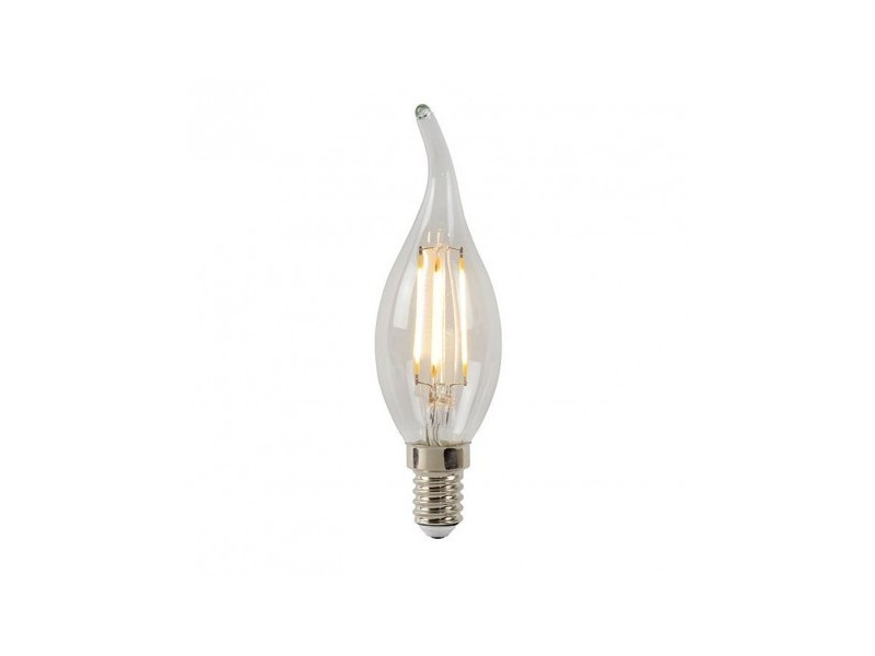 Ampoule led e14 4w/35w 2700k 320lm flamme filament dimmable