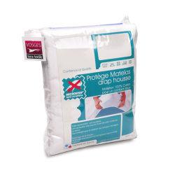 Protège matelas absorbant antonin - blanc - 80x200