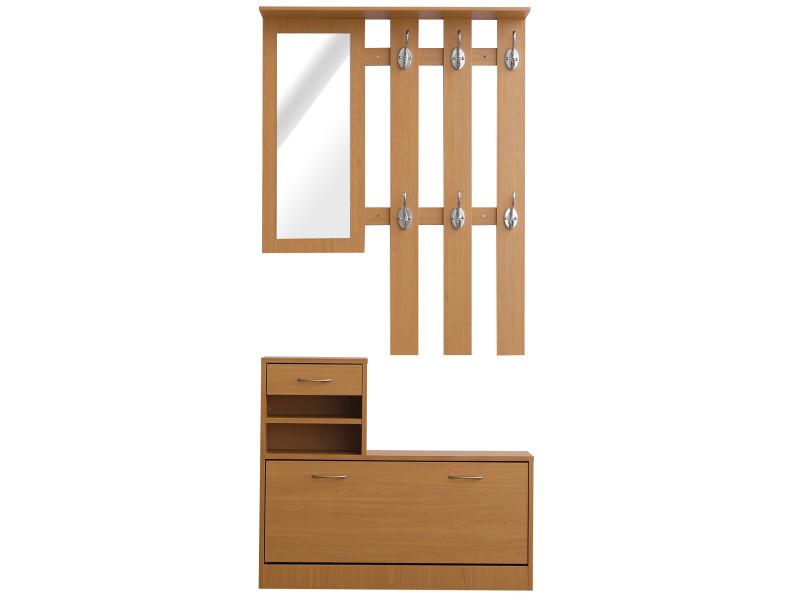 Ensemble de meubles d 39 entr e design contemporain meuble for Imitation meuble design
