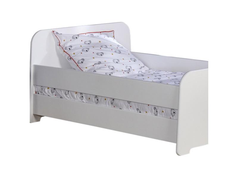 Barri/ère de lit Spike Blanc 140 cm