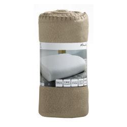 Plaid mikado cement 100 x 150 les ateliers du linge