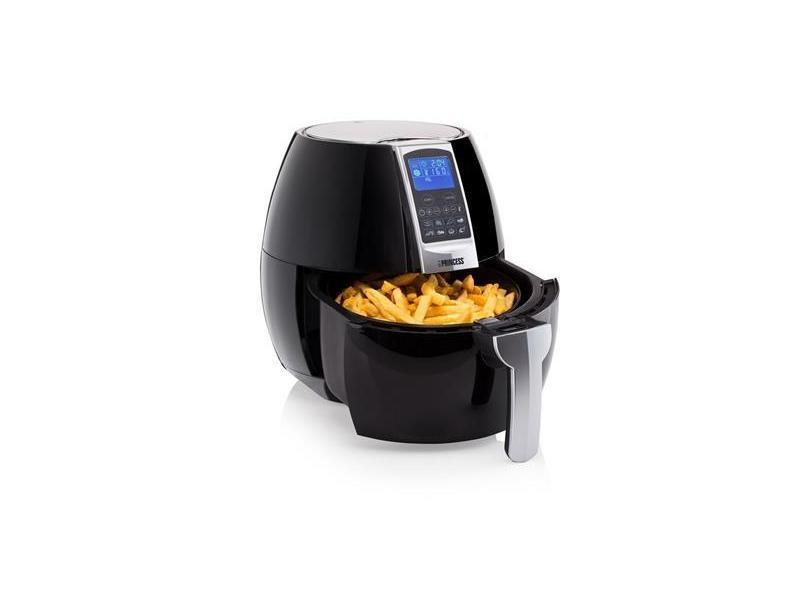 Friteuse électrique avec écran digital aerofryer xl de 3,2l 1500w noir