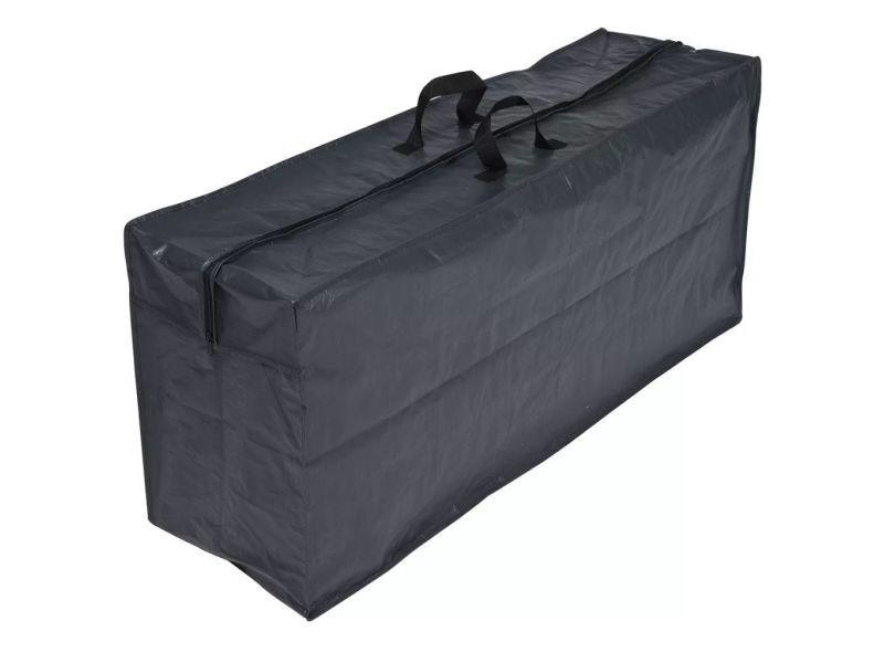 Magnifique accessoires pour meubles d'extérieur categorie luanda housse pour coussin nature 57 x 128 x 37 cm pe gris foncé 6030609