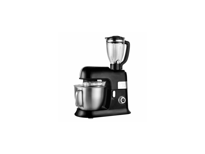 Kitchencook expert xl black robot petrin avec blender - 6,5l - noir