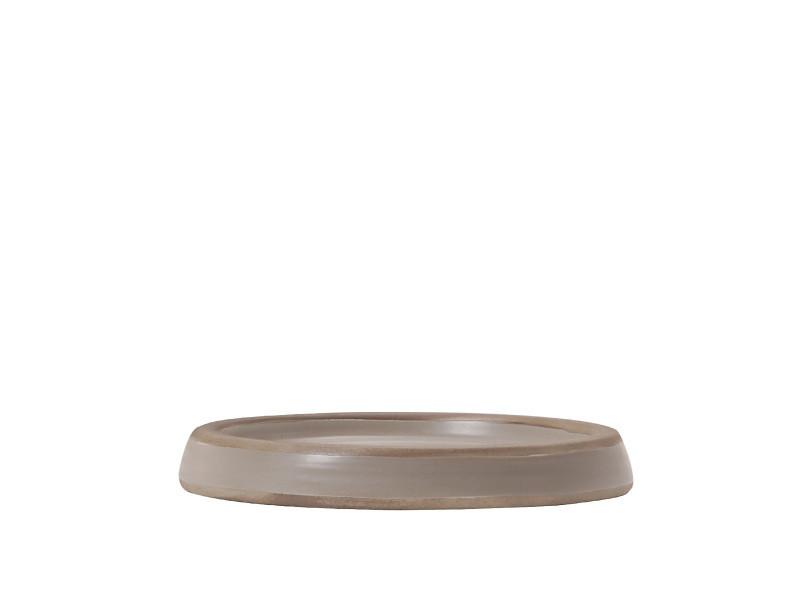 Porte savon en céramique - beige - dimensions :
