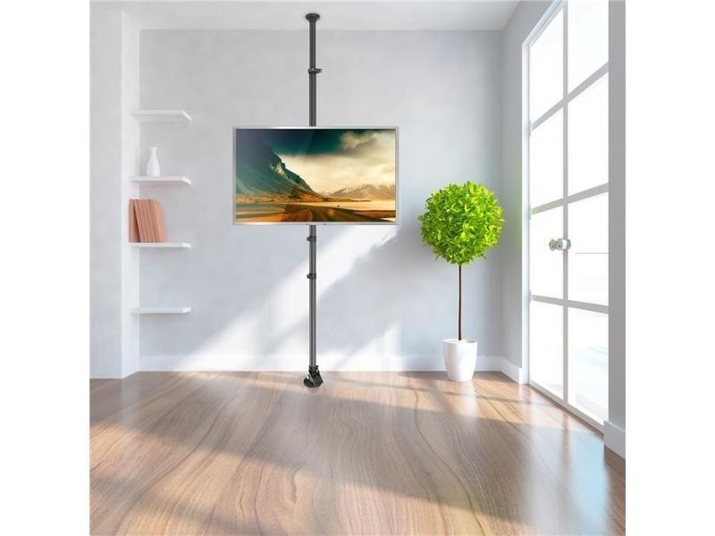 site réputé b0d68 e2625 Support colonne sol-plafond pour écran tv lcd led 37´´-65 ...