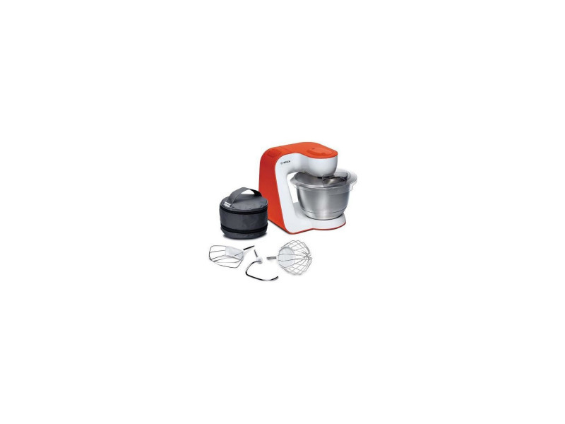 Bosch mum54i00 robot patissier kitchen machine mum 5 - blanc et orange