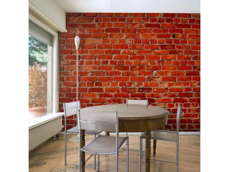 Papier peint brique A1 FTNT1216   Vente de ARTGEIST   Conforama
