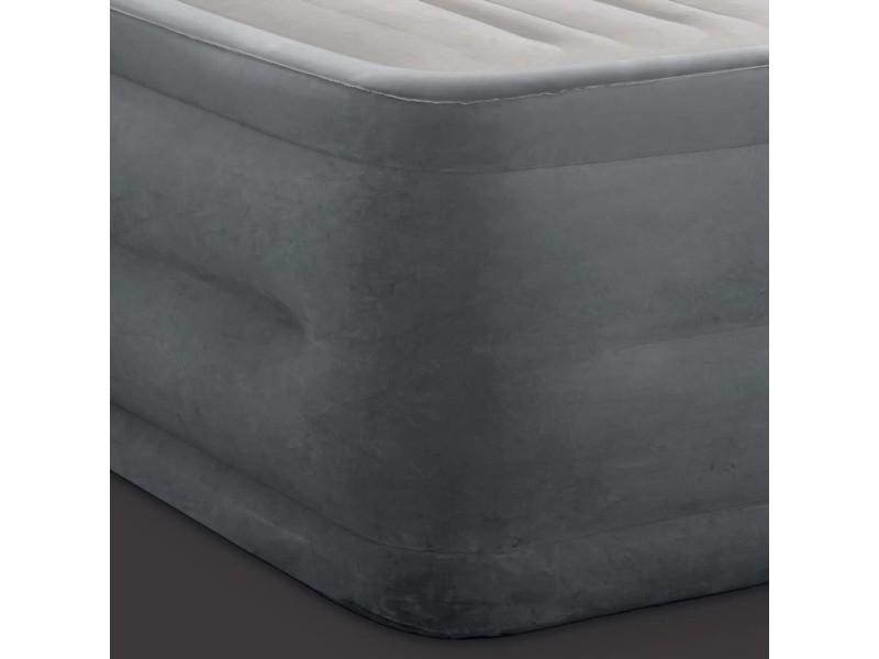Intex matelas gonflable dura-beam deluxe comfort plush reine 56 cm 92058