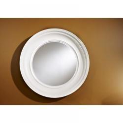 Miroir mural à poser blanc   Conforama