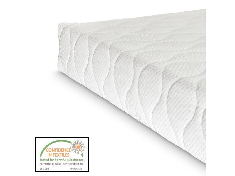 16 cm matelas en mousse froide 120 x 200 cm 7 zones matelas memory matelas rouler. Black Bedroom Furniture Sets. Home Design Ideas