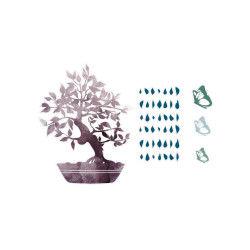 Sticker zen croquis - 50 x 70 cm - banzai