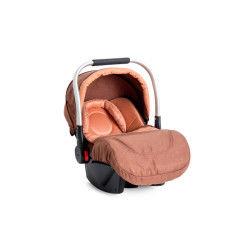 Siège auto bébé « cosy » groupe 0+ delta (0-13kg) marron