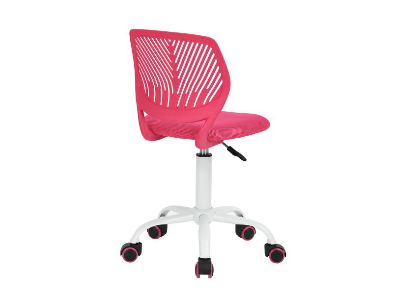 enfant de rose Chaise de réglable Vente roulettes bureau WeQCxBrod