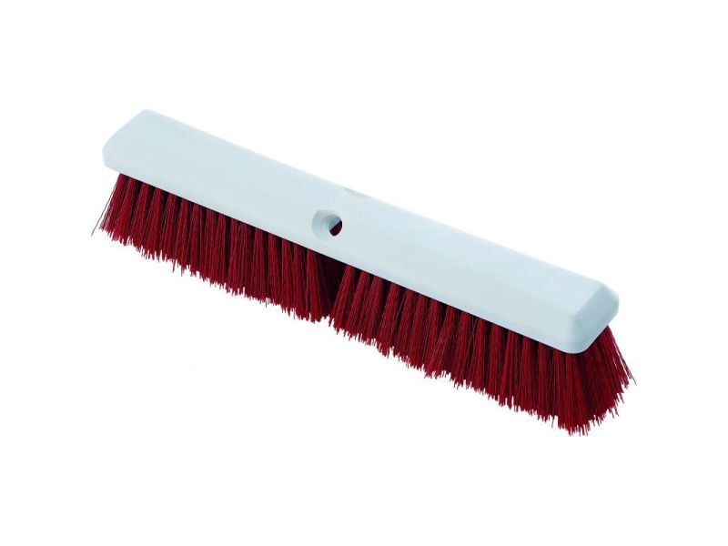 Balai nettoyage multi-usage 450 x 65 mm - plusieurs couleurs - stalgast - rouge