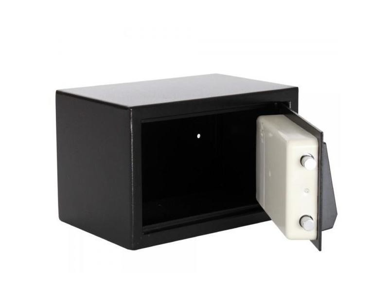 mini coffre fort acier avec serrure code lectronique helloshop26 0408001 vente de coffre et. Black Bedroom Furniture Sets. Home Design Ideas