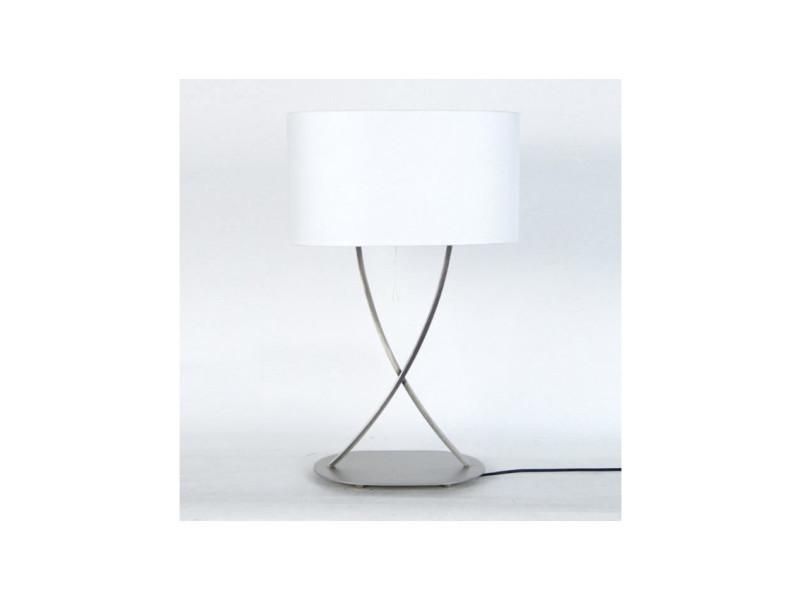 A Vente Lampe De Acier Blanc 40x40x65 Carré Elégance Poser Cm dxerCBoW