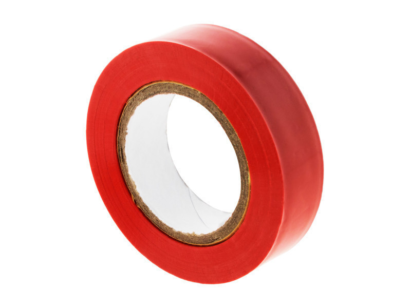 Rouleau adhésif 15mm x 10m rouge 121562