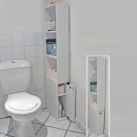 Meuble de toilettes 1 porte alaska / blanc