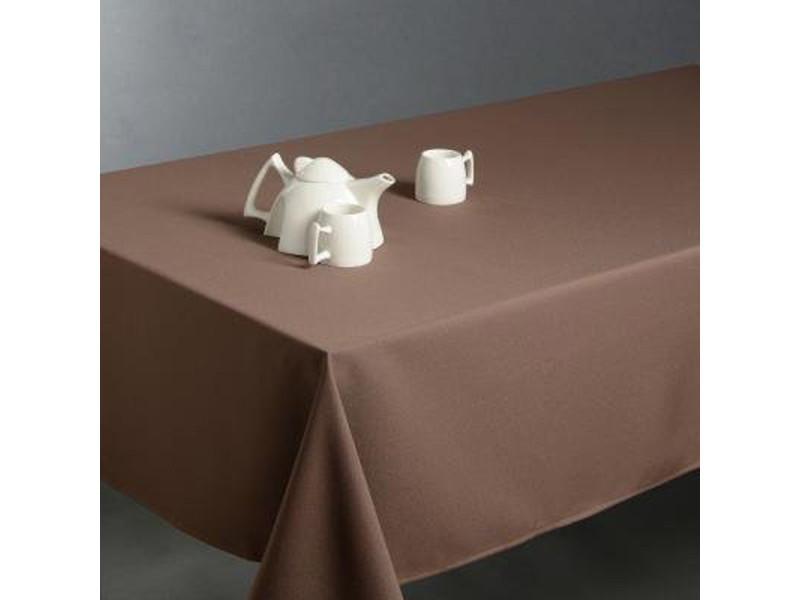 Nappe anti taches rectangulaire taupe, 150 x 300 cm -pegane-