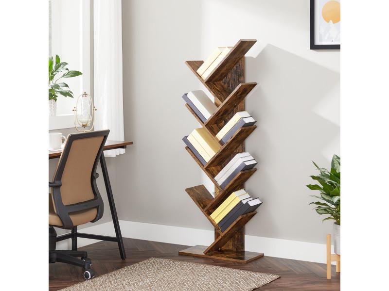 Etagere A 8 Niveaux Bibliotheque Style Industriel Meuble