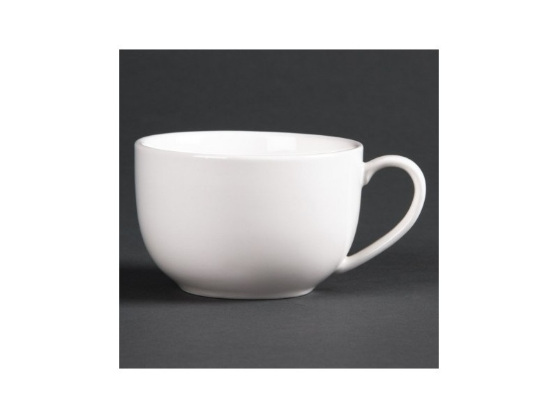 Tasses à espresso rondes basses 120ml lumina - lot de 6 - 0 cm porcelaine 12 cl