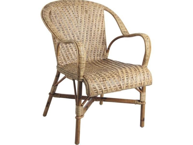 Aubry gaspard - fauteuil rotin ancien belle époque - Vente ...